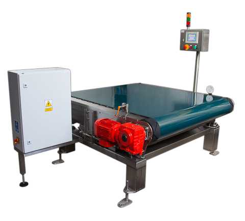 Checkweigher for BIG-BAG bags with belt conveyor